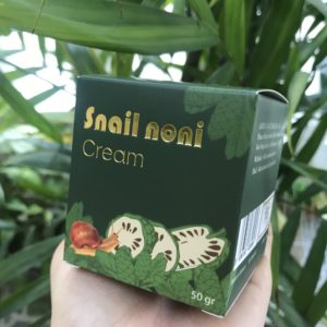 Kem dưỡng Trái nhàu - Ốc sên (2)